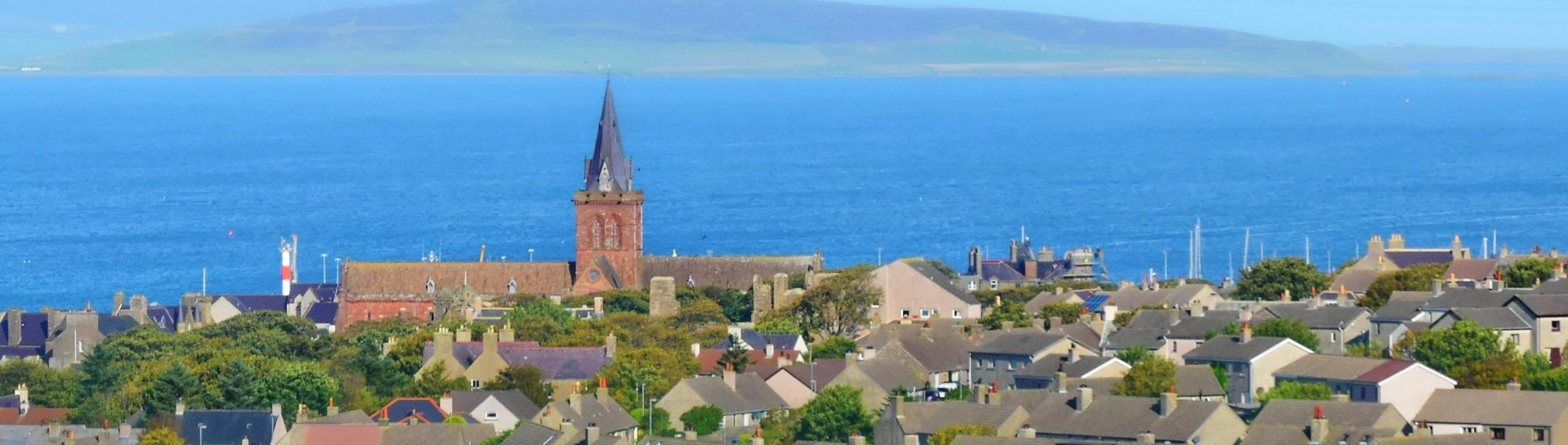 Lanschap Kirkwall, Orkney