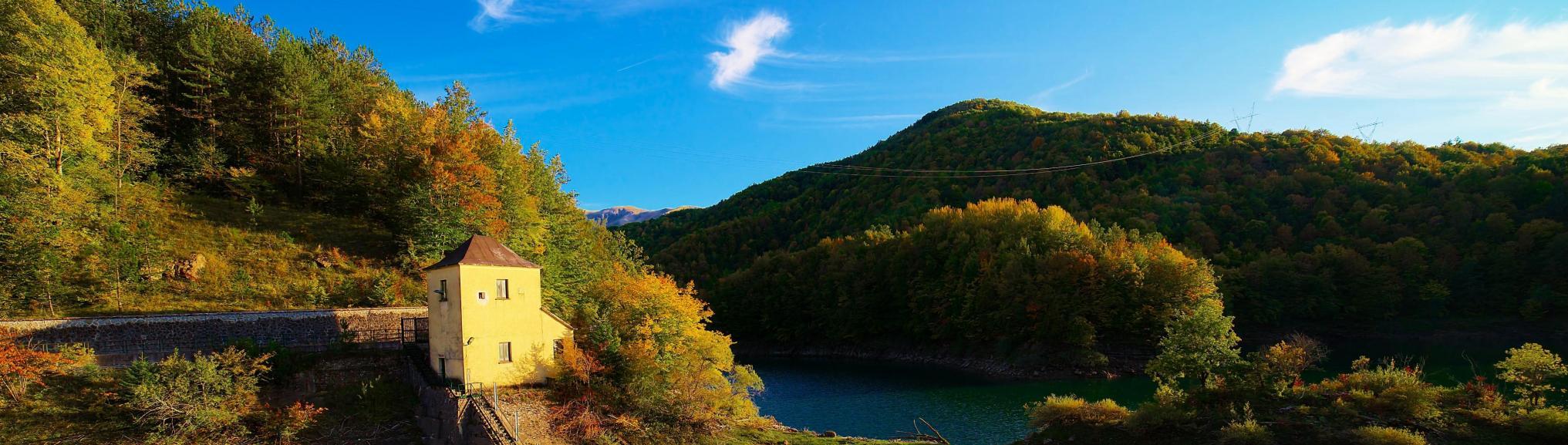 Lago di Provvidenza, Abruzzen