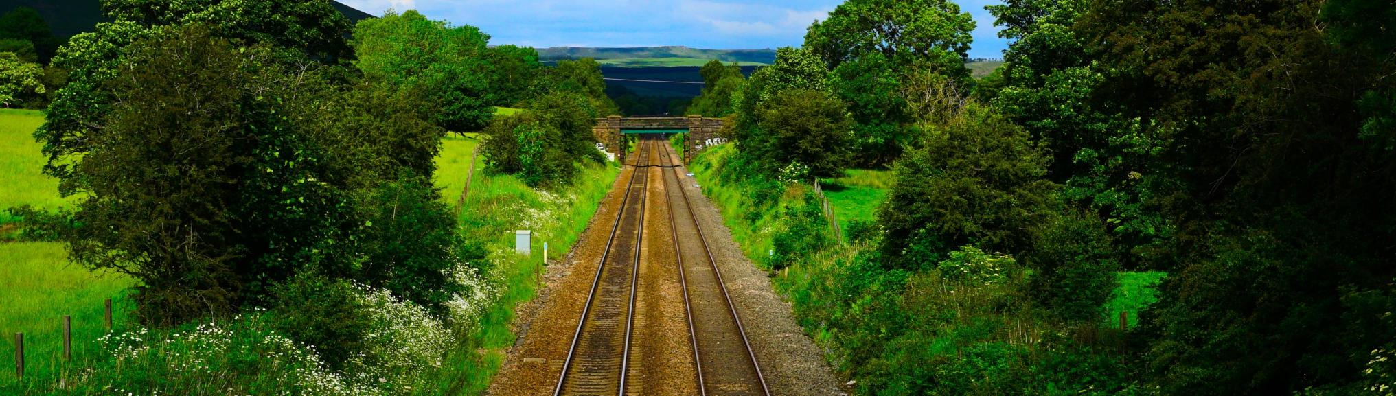Treinspoor Engeland