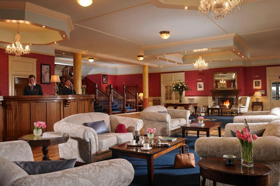 Knockranny House Hotel receptie