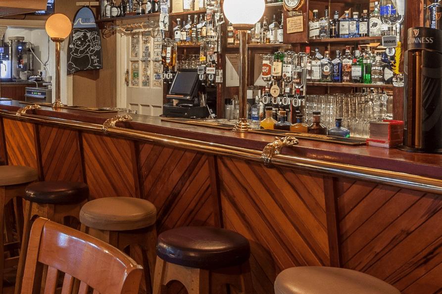 Sandhouse Hotel bar