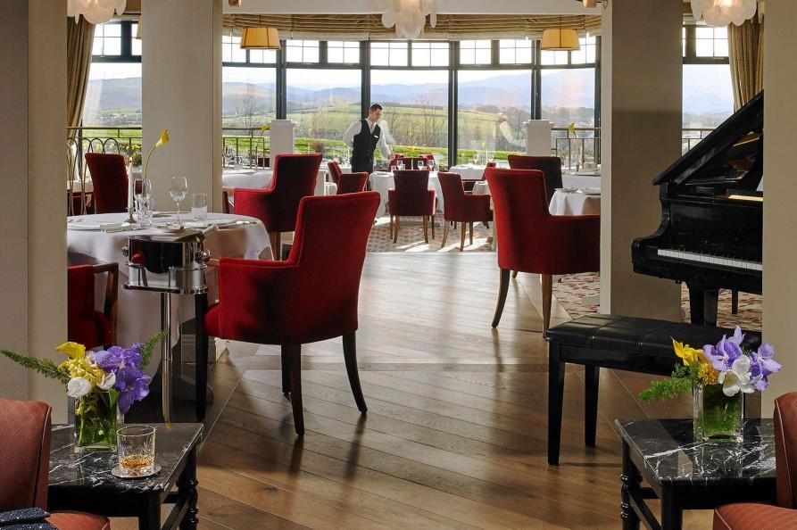 Knockranny House Hotel restaurant