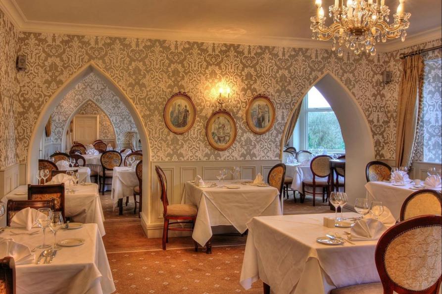 Cabra Castle restaurant