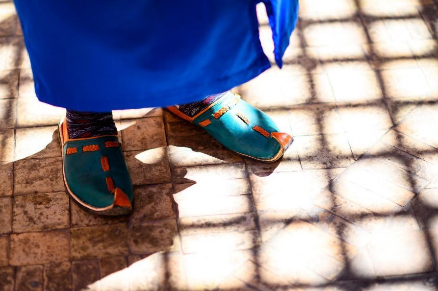 Marokaanse schoenen