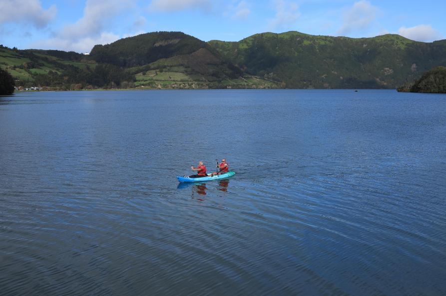Kanoën, Furnas meer