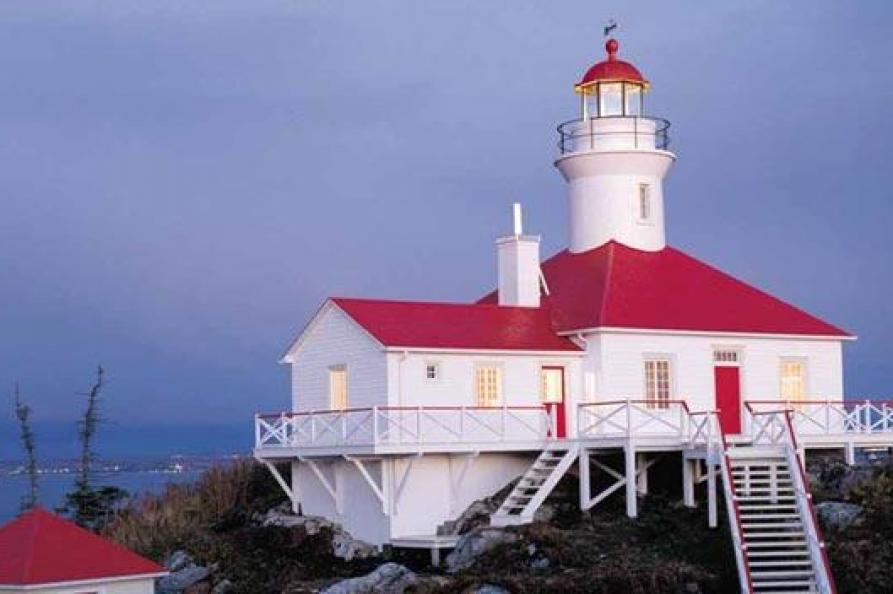 Phare du Pot a l'Eau de Vie Lighthouse