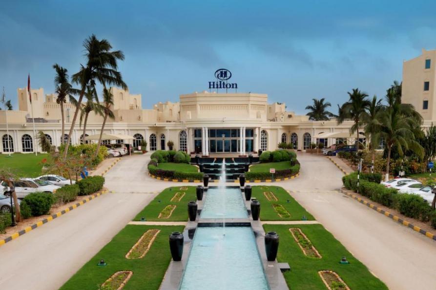 Hilton hotel Salalah