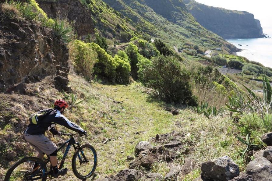 Mountainbiking op Sao Miguel