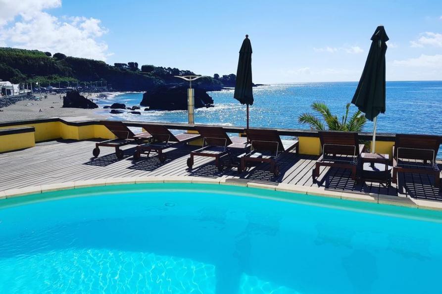 Zwembad Vinha d Areia Beach Hotel