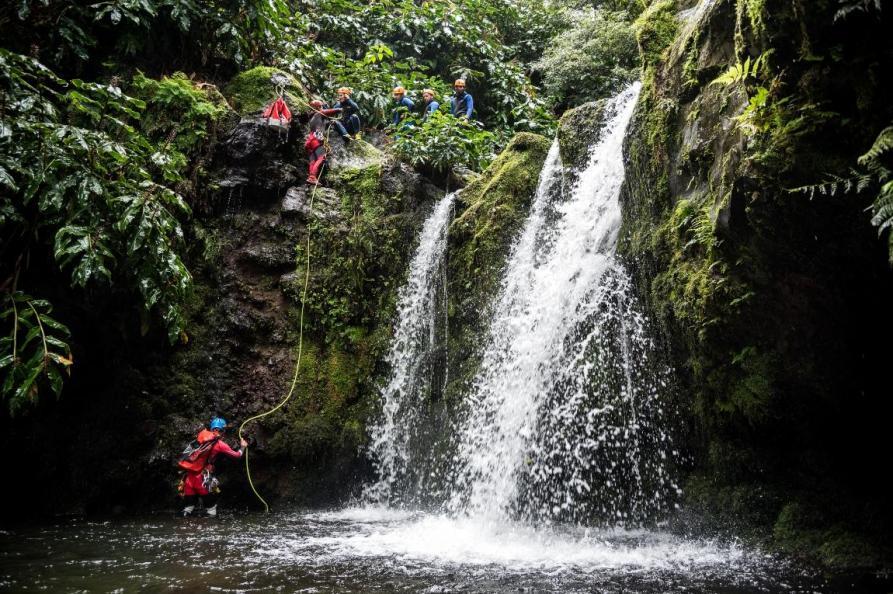 Canyoning, Salto da Cabrito