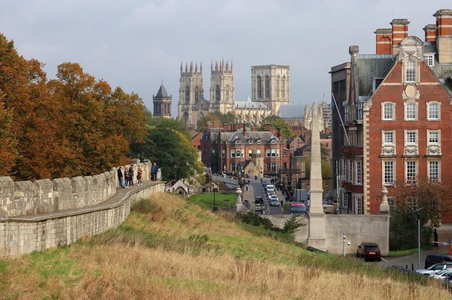 Uitzicht York Minster