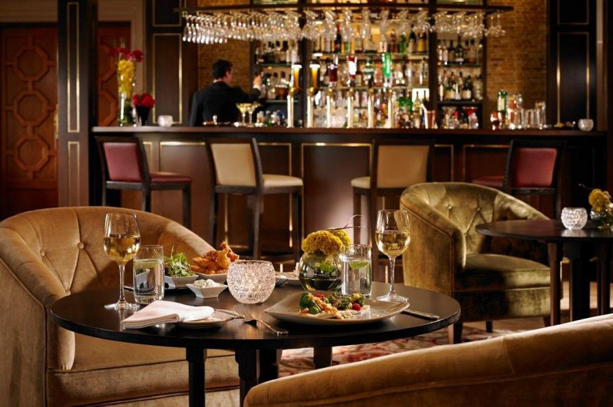 Knockranny House Hotel bar