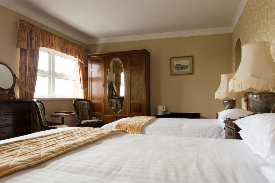 Sandhotel Hotel slaapkamer